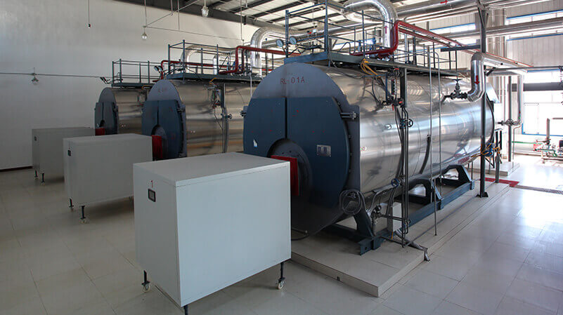 20 ton condensing gas steam boiler in mengniu dairy