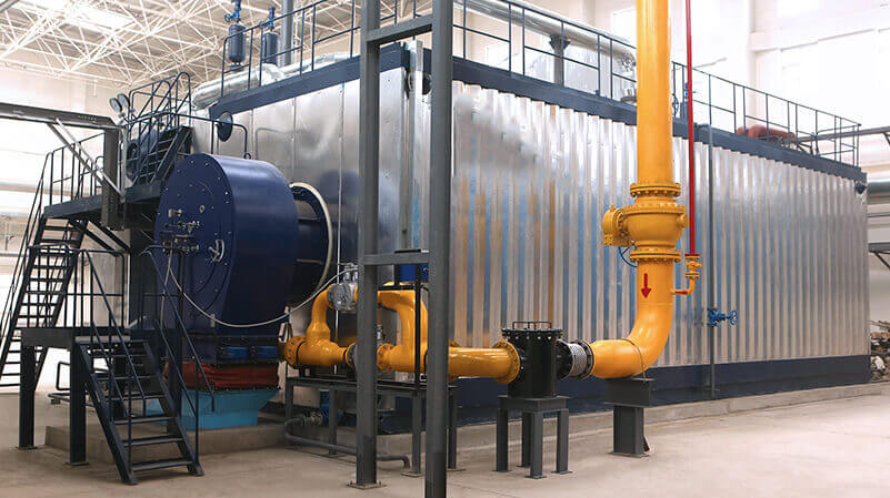 3 ton condensing fuel gas steam boiler in hope feed