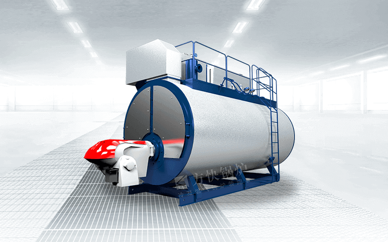 integrated condensing water boiler