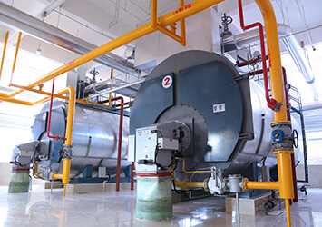 integrated condensing steam boiler