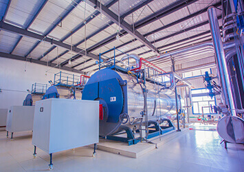split condensing steam boiler